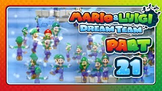 Mario & Luigi: Dream Team - Part 21: OH NO IT'S A BLIZZARD!