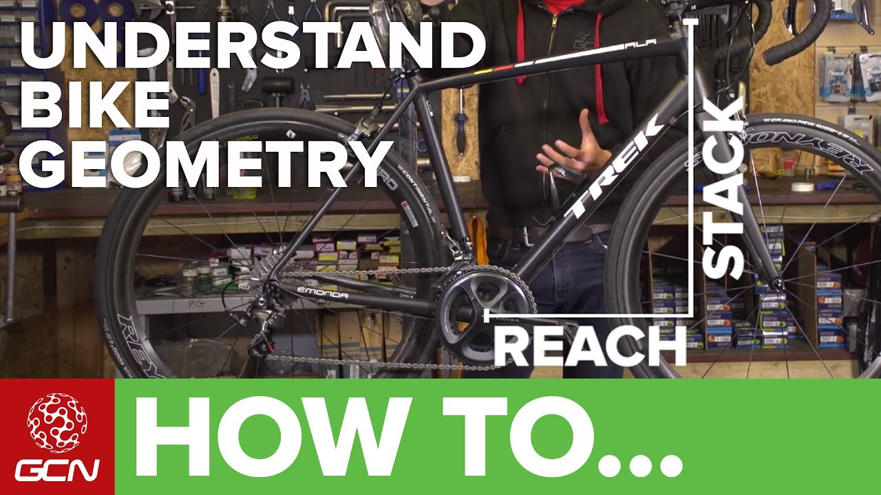 Road Bike Geometry Explained – How To Understand Reach, Stack, Trail ...