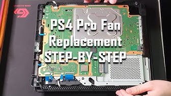 PS4 Pro Fan Replacement: Step-By-Step / PS4 Pro Tuulettimen vaihto