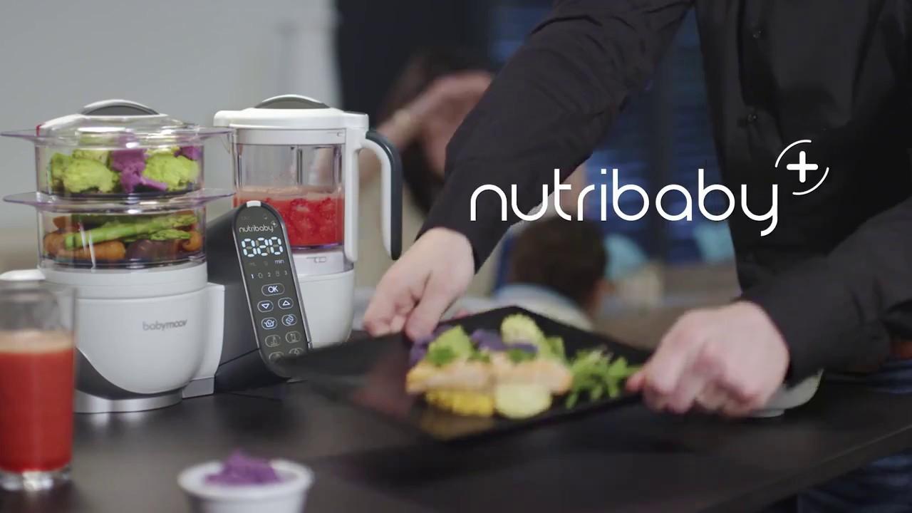 nutribaby plus le nouveau robot de cuisine de babymoov youtube. Black Bedroom Furniture Sets. Home Design Ideas