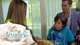 Esteban no acepta que su padre se case con Tamara | La rosa de Guadalupe
