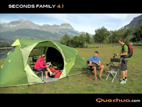 fr quechua tente seconds family 4 1 youtube. Black Bedroom Furniture Sets. Home Design Ideas