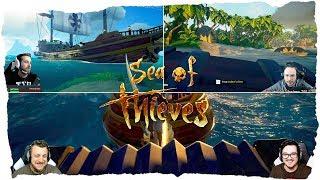 Sea of Thieves - MULTISTREAM MONTAGE #1   TheVR   Nessaj   Dre3dd