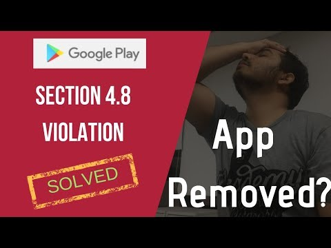 Google Play Distribution Agreement Section 4.8 And Advertising ID Issue Resolution