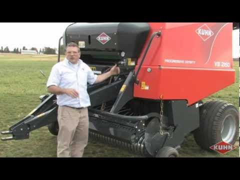 Kuhn VB Round Baler Review With Rob Barger