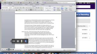 Annotated Bibliography lecture and advice