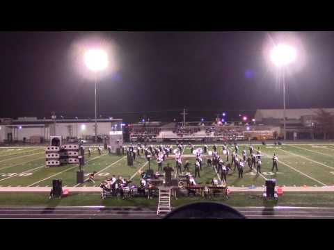 Boyle County Marching Band - Finals at Madison Southern 9-17-16