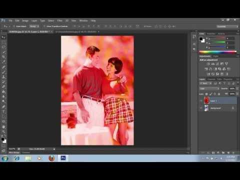 Blend photos in photoshop cs6