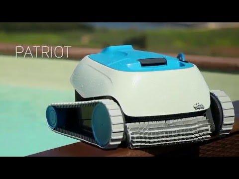 בנפט דולפין פטריוט - רובוט לניקוי בריכות - YouTube OD-75