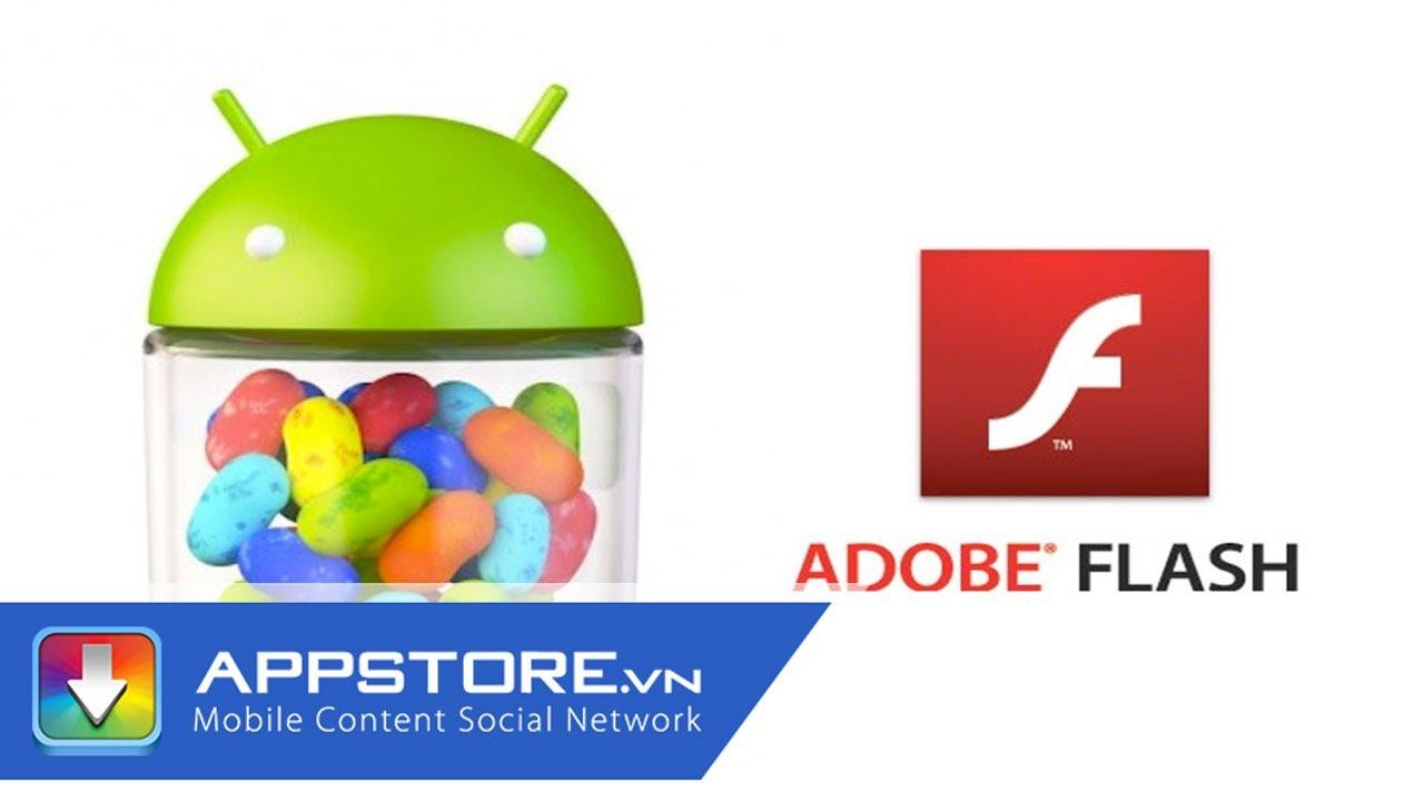 Hướng dẫn xem Video Flash trên Android – AppStoreVn