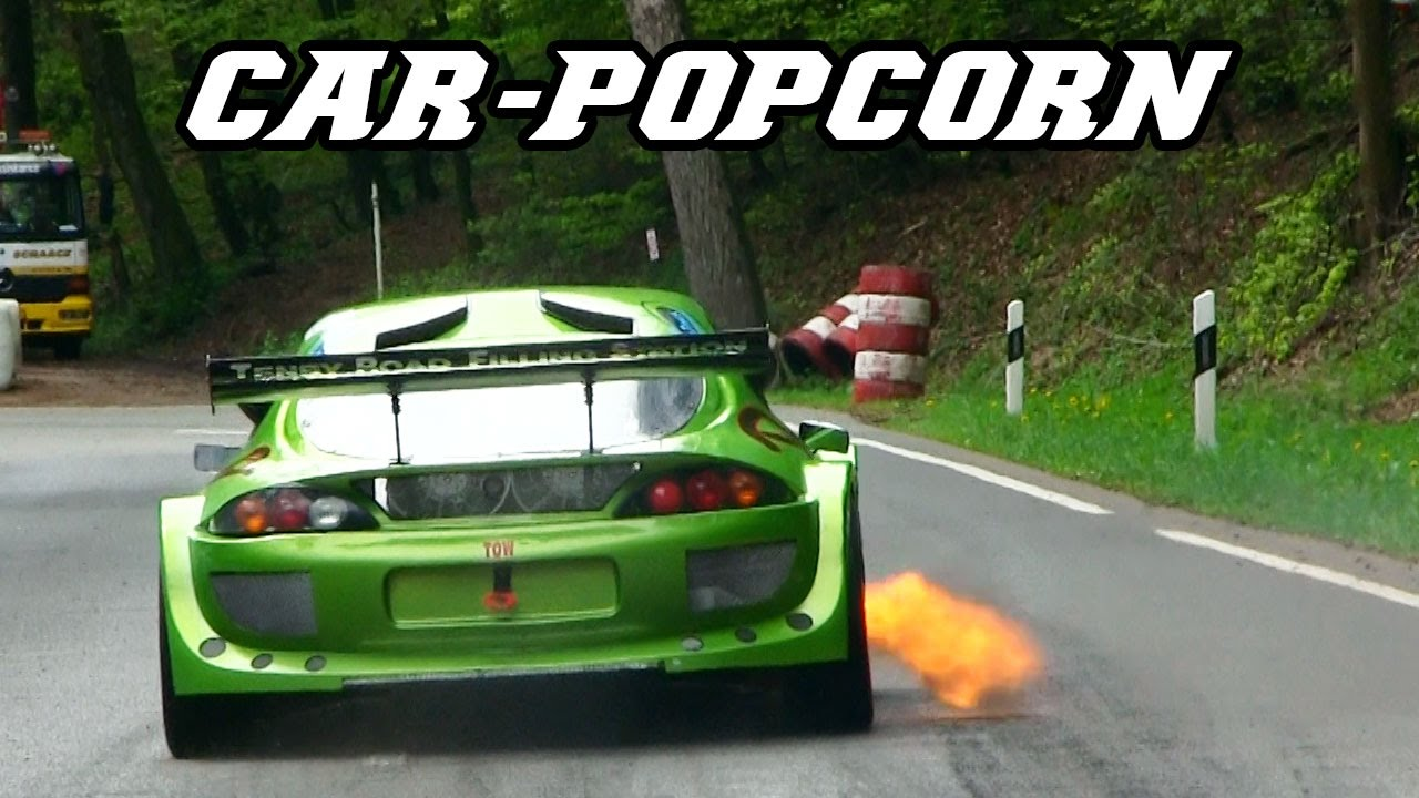 Backfire, crackles, anti-lag, pops & bangs - CAR POPCORN
