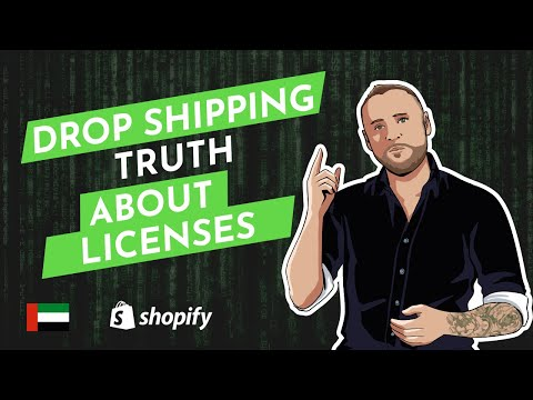 Shopify Agency Explains Drop Shipping license requirements a
