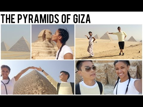 Visiting the Pyramids of Giza  • Egypt Vlog •