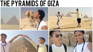 visiting the pyramids of giza egypt vlog