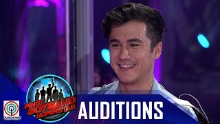 "Pinoy Boyband Superstar Judges' Auditions: Luigi D'Avola – ""Terrified"""