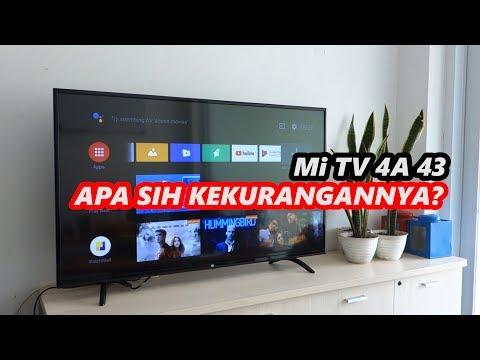 Rp 4 Juta Smart TV Xiaomi Mi TV 4A 43 - Apa Sih Kekurangannya?