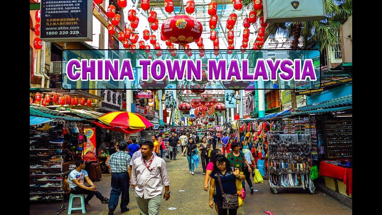 Chinatown Kuala Lumpur Malaysia Jalan Petaling Street China Town