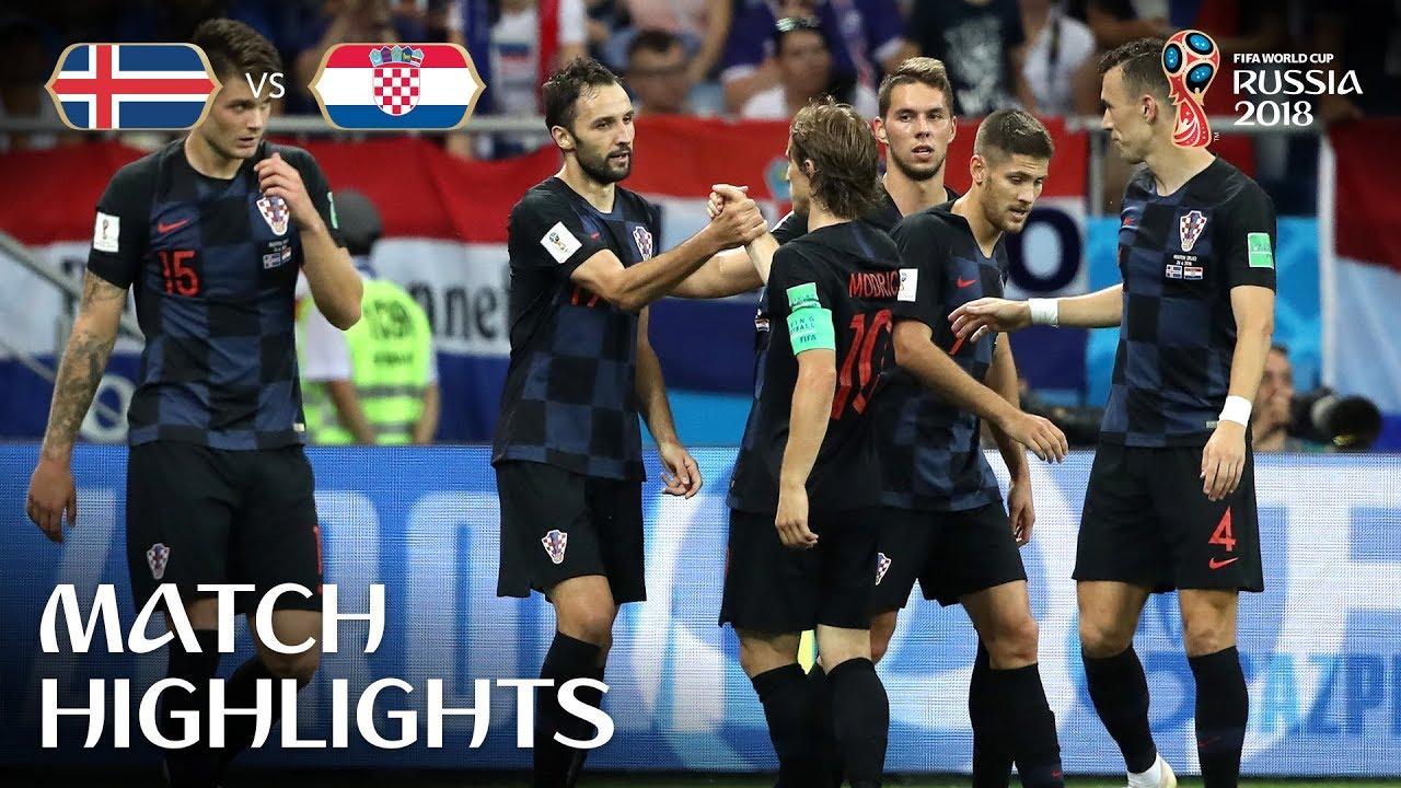 f04977d238c Iceland v Croatia - 2018 FIFA World Cup Russia™ - Match 40 - YouTube