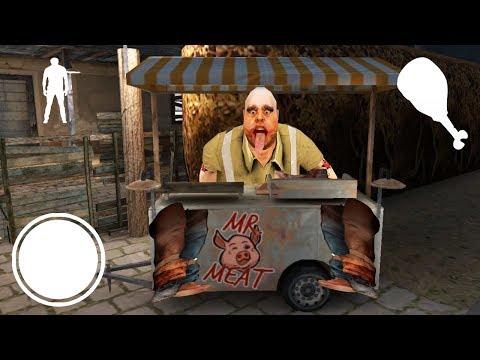 ОТКРЫЛ СЕКРЕТ МЯСНИКА КАК ГРЕННИ! - Mr.Meat Psychopath Hunt