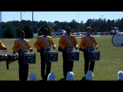 VHS Drumline 16th note timing