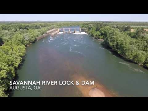Savannah River Lock & Dam