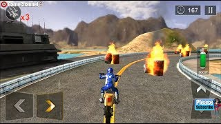 Extreme Bike Stunts 3D / Motor Games / Android Gameplay Video FHD #2