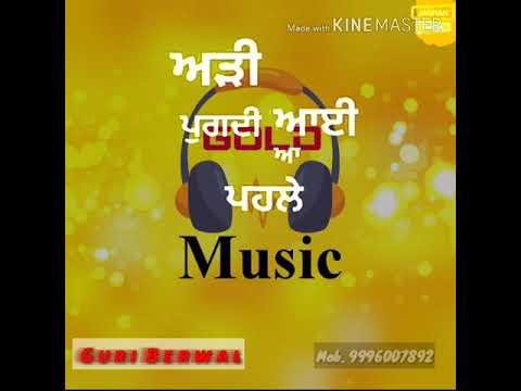 Jawaani Nu Makhol Kare Putt Jatt Da _-_ Guri __ Attitude Whatsapp Video Status 2018