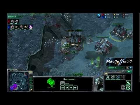 Starcraft 2 Ladder Game - Macguffin (Z) Vs Yoz (T)