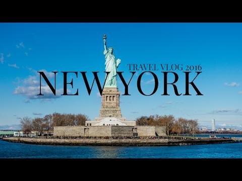 STATUE OF LIBERTY & ELLIS ISLAND NEW YORK VLOG NOVEMBER 2016   desertedinaue   travel vlog new york