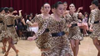 Crystal Dinner and Dance  - Vision Dance Studio - Group Cha Cha