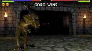 Mortal Kombat 4-Getting Goro and Noob Mp3