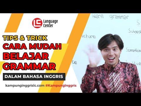 Tips Belajar Grammar Bahasa Inggris Dengan Mudah | TEATU with Mr Ewit - Kampung Inggris LC