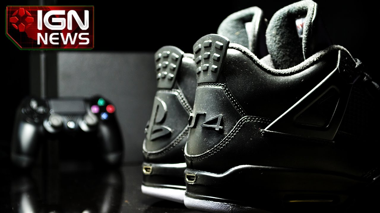 7b98cad3f3b40c Introducing PS4 Air Jordan Sneakers