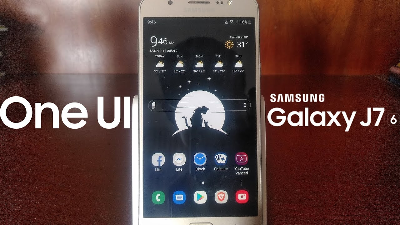 One UI Rom for Samsung Galaxy J7 2016 Overview [RefinedPie A6]