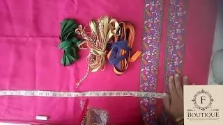 how to make pthani frock   Sindhi frock Afghani frock balochi farok Eid dress
