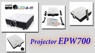 Chinese projector EPW700. Китайский проектор HD. Обзор проектора из Китая.