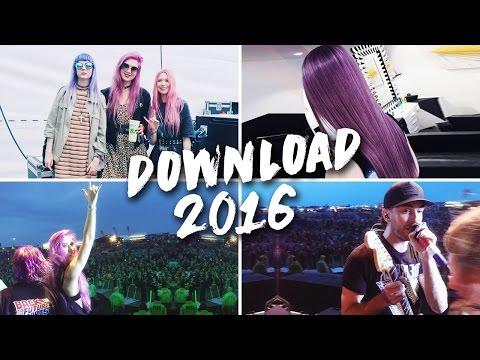 VLOG // Download Festival, Hair Change & London Fun