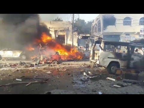 At least 40 killed as huge blast hits Somalia's capital Mogadishu