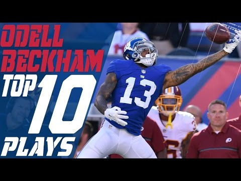 Odell Beckham Jr.'s Top 10 Plays of the 2016 Season | New York Giants | NFL Highlights