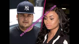 Rob Kardashian Exposes Blac Chyna Nudes & Cheating On Him. Says Chyna had Threesome with T.I. & Tiny