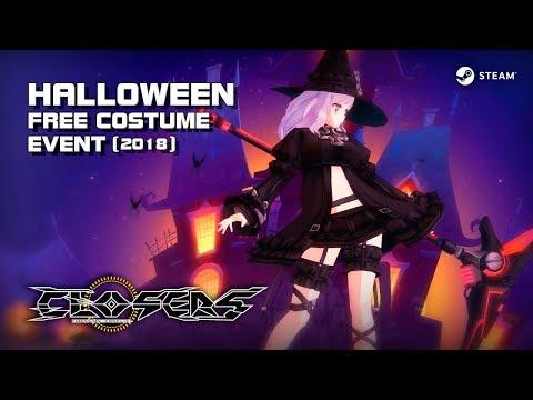 Closers - Halloween Free Costume Event - Steam Version - F2P - PC - EN