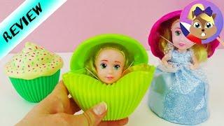 Cupcake Surprise | Roztomilá princezna v dortíku  | Srovnání 3 princezen