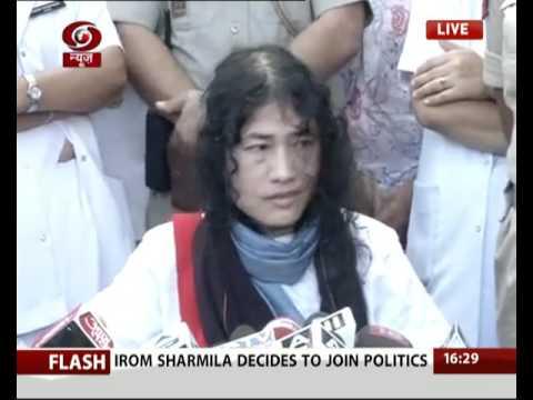 Irom Chanu Sharmila ends 16 year long fast