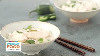 Gluten-free Coconut-lime Chicken Noodle Soup - Everyday Food With Sarah Carey