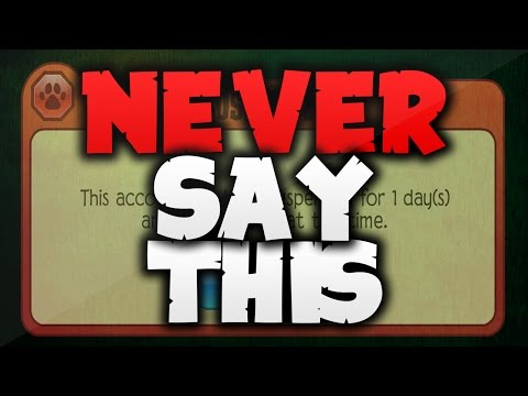 THINGS TO NEVER SAY ON ANIMAL JAM