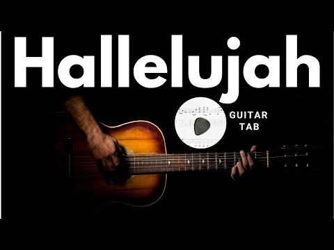 HALLELUJAH - LEONARD COHEN - How to Play - Guitar