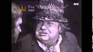 Harald Heide Steen jr. gjester Rolv Wesenlund sin 60-årsdag