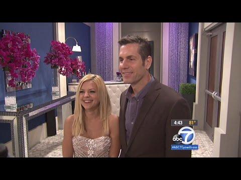 ABC7 043015 Kirsten Storms & Frank Valentini