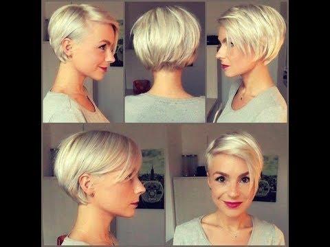 2019 Kısa Bayan Saç Modelleri Youtube