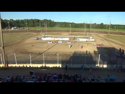 Mini Wedge Heat #2 at Crystal Motor Speedway on 07-07-2018